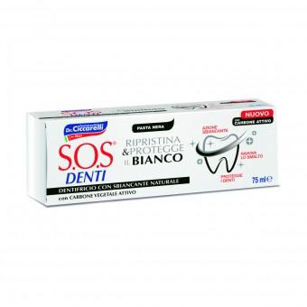 Dr.CICCARELLI S.O.S DENTI RIPRISTINA & PROTEGGE IL BIANCO 75 ML