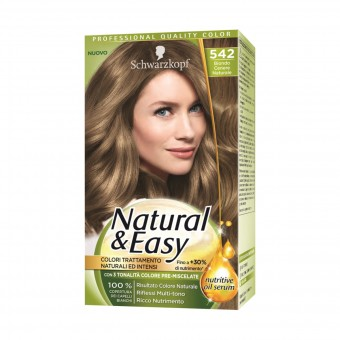 NATURAL & EASY COLOR 542 BIONDO CENERE NATURALE