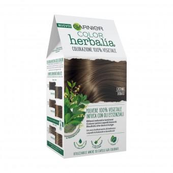 HERBALIA COLOR COLORAZIONE POLVERE 100% VEGETALE CASTANO DORATO