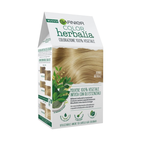 HERBALIA COLOR COLORAZIONE POLVERE 100% VEGETALE BIONDO NATURALE, COLORANTI, S154871, 70751