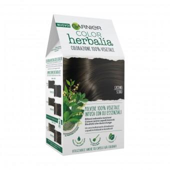 HERBALIA COLOR COLORAZIONE POLVERE 100% VEGETALE CASTANO SCURO