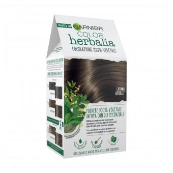 HERBALIA COLOR COLORAZIONE POLVERE 100% VEGETALE CASTANO NATURALE