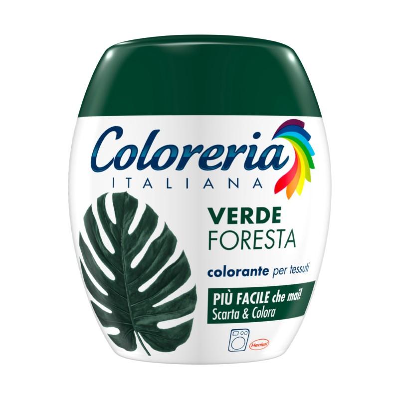 COLORERIA ITALIANA VERDE FORESTA COLORANTE PER TESSUTI
