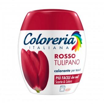 COLORERIA ITALIANA ROSSO TULIPANO COLORANTE PER TESSUTI
