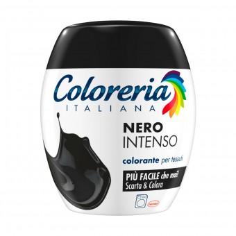 COLORERIA ITALIANA NERO INTENSO COLORANTE PER TESSUTI
