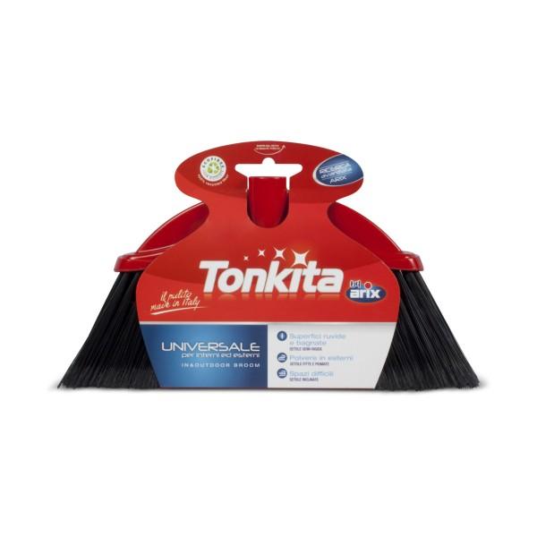 TONKITA SCOPA UNIVERSALE ALTA PER INTERNI ED ESTERNI, SCOPE / PANNI E ACCESSORI PAVIMENTI, S154256, 70975