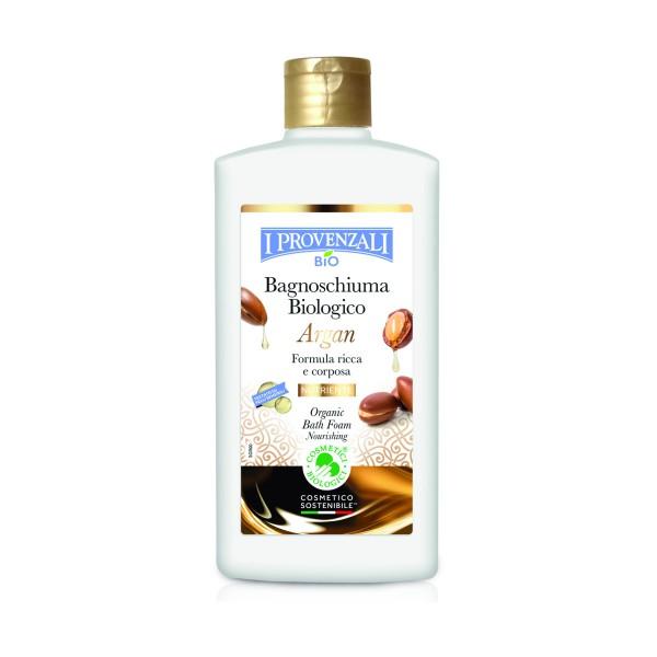 I PROVENZALI ARGAN BAGNOSCHIUMA BIOLOGICO NUTRIENTE 400 ML , BAGNO/DOCCIA SCHIUMA, S153838, 71195
