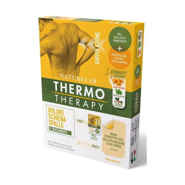 THERMO THERAPY MAXI CEROTTO GEL 10 x 14 CM MULTIZUNZIONE CON ERBE DOLORE SCHIENA e SPALLE 5 TRATTAMENTI , MEDICAZIONE & PRONTO SOCCORSO, S152498, 71465
