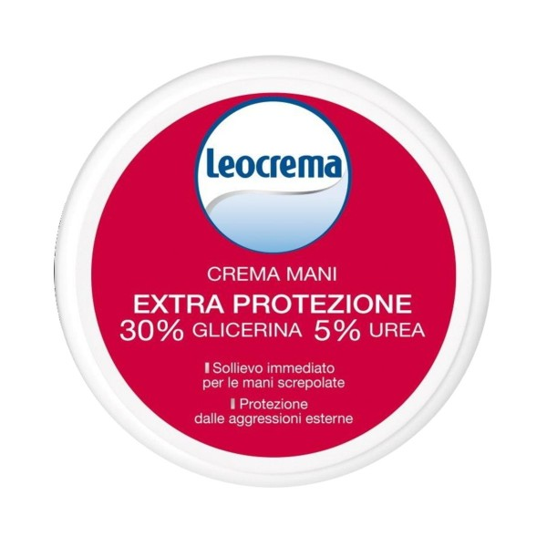 LEOCREMA CREMA MANI EXTRA PROTEZIONE SCATOLA 100 ML., CREME E GEL MANI, S152174, 71566