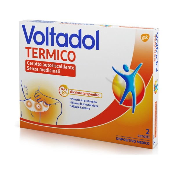 VOLTADOL CEROTTO TERMICO AUTORISCALDANTE SENZA MEDICINALI 2 PEZZI, MEDICAZIONE & PRONTO SOCCORSO, S152004, 71681