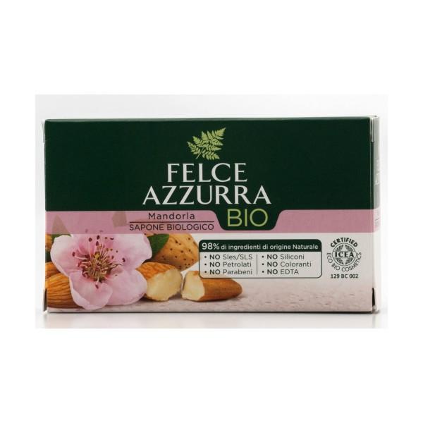 FELCE AZZURRA SAPONETTA BIO SAPONE 125gr PROF.MANDORLA, SAPONI, S151215, 71928