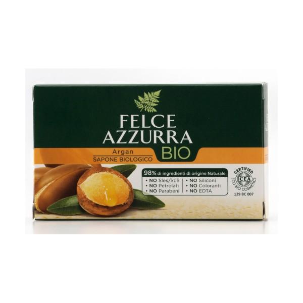 FELCE AZZURRA SAPONETTA BIO SAPONE PROFUMO ARGAN 125 grammi, SAPONI, S151214, 71929
