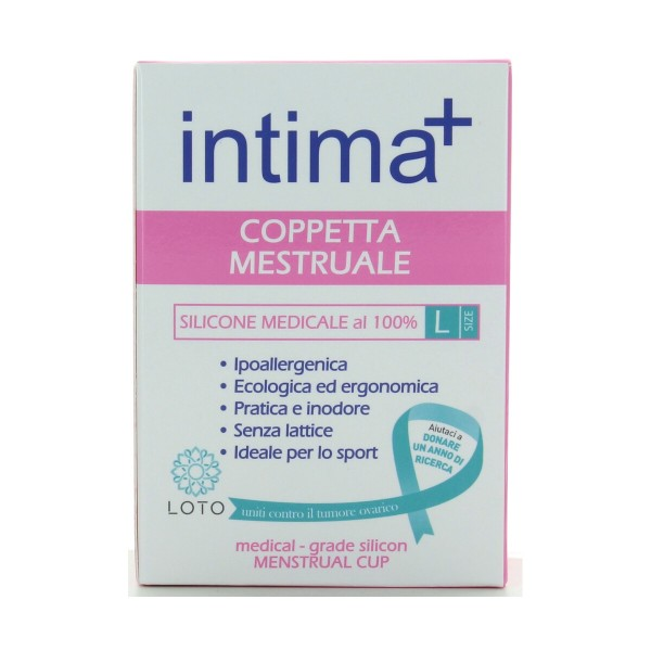 INTIMA+ COPPETTA MESTRUALE IN SILICONE MEDICALE AL 100% SIZE L, IGIENE INTIMA, S151112, 71985