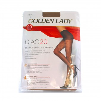 GOLDEN LADY CIAO COLLANT 20 DEN MELON TAGLIA 4