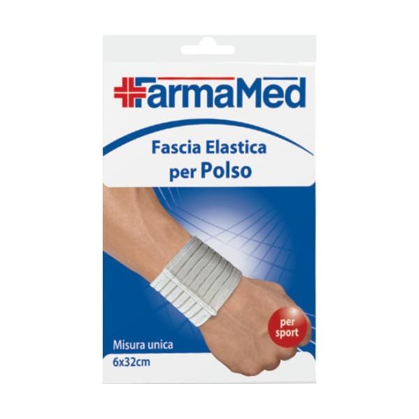 FARMAMED FASCIA ELASTICA PER POLSO 6 X 32 cm , MEDICAZIONE & PRONTO SOCCORSO, S148244, 72805