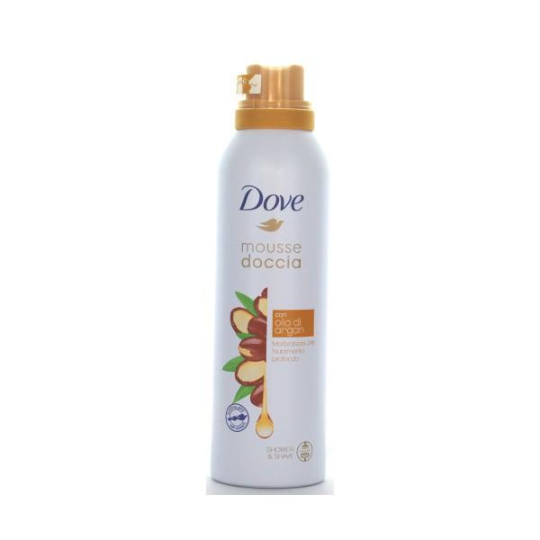 DOVE DOCCIA MOUSSE CON OLIO DI ARGAN 200 ML, BAGNO/DOCCIA SCHIUMA, S147557, 72948