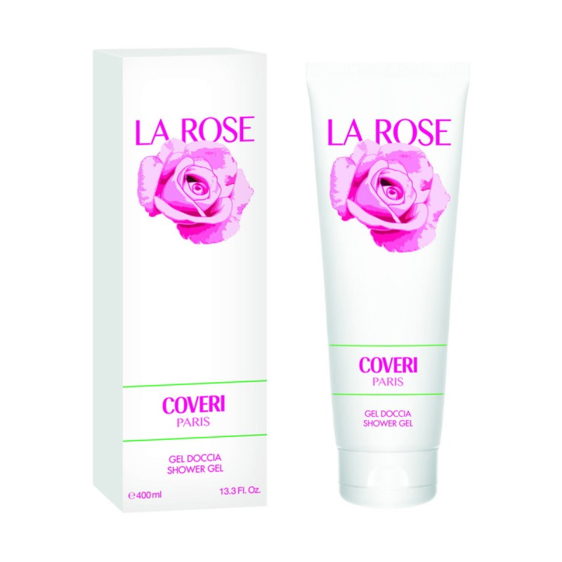 COVERI PARIS LA ROSE SHOWER GEL 400 ML