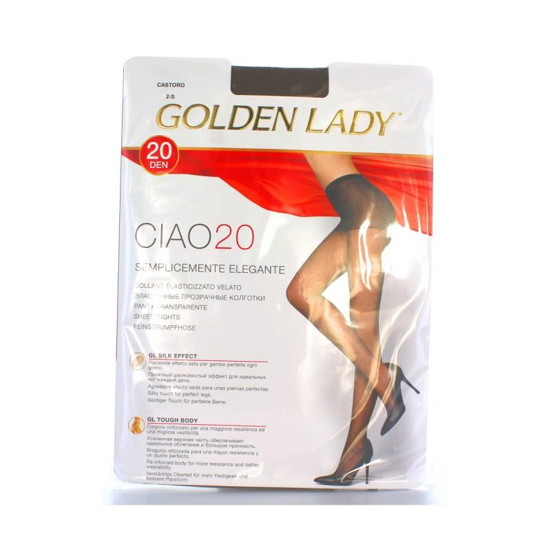 GOLDEN LADY CIAO COLLANT 20 DEN CASTORO TAGLIA 2