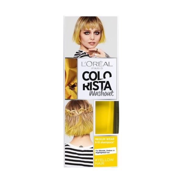 COLORISTA WASHOUT TEMPORY COLOR YELLOW HAIR, COLORANTI, S146850, 73235