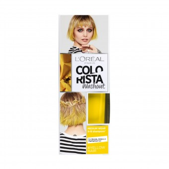 COLORISTA WASHOUT TEMPORY COLOR YELLOW HAIR