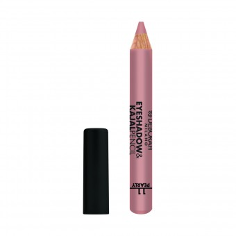 DEBORAH OMBRETTO EYE SHADOW & KAJAL PENCIL 11 ROSA DORATO