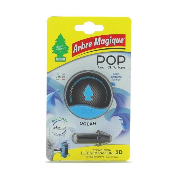 ARBRE MAGIQUE POP POWER OF PERFUME FOR CAR OCEAN 30gg, DEODORANTI AUTO, S145951, 73319