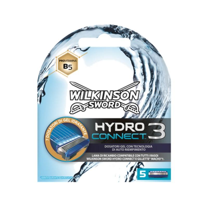 WILKINSON HYDRO 3 CONNECT 5 RICAMBI DA 3 LAME