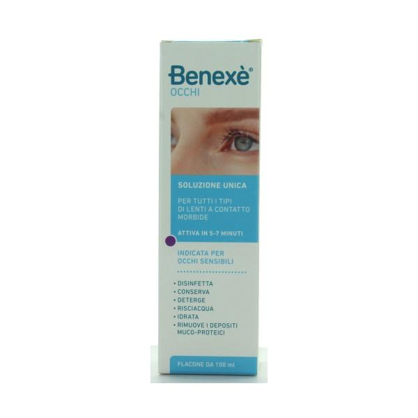BENEXE' SOLUZIONE UNICA PER LENTI 100 ML, MEDICAZIONE & PRONTO SOCCORSO, S143149, 73621