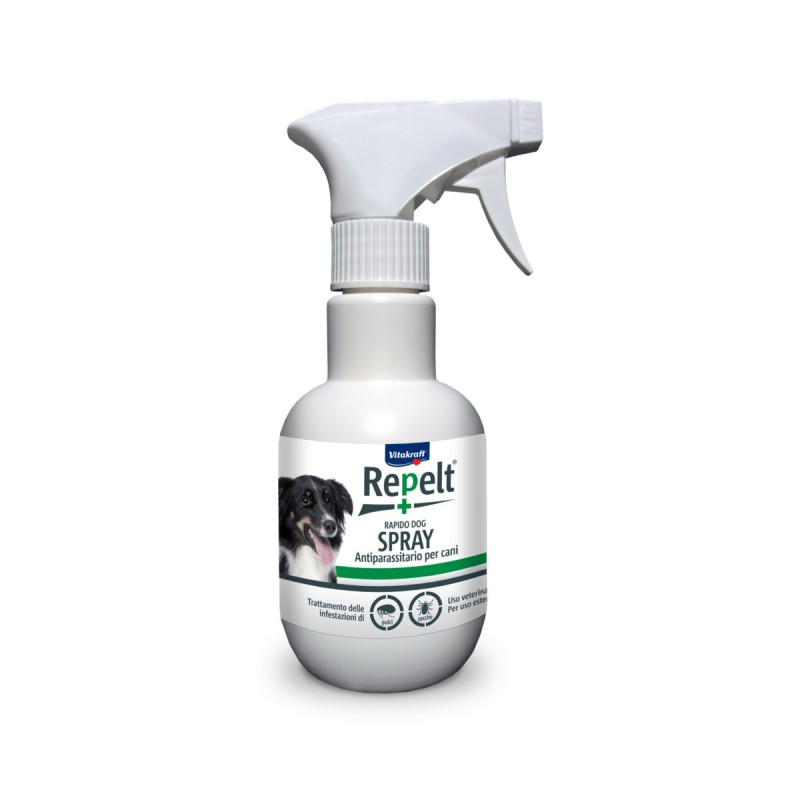 VITAKRAFT REPELT SPRAY ANTIPARASSITARIO PER CANE 250 ML