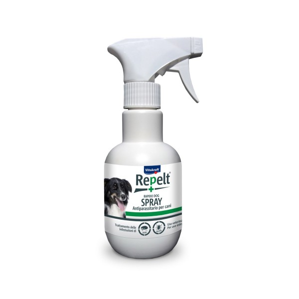 VITAKRAFT REPELT SPRAY ANTIPARASSITARIO PER CANE 250 ML, IGIENE, S144662, 73672