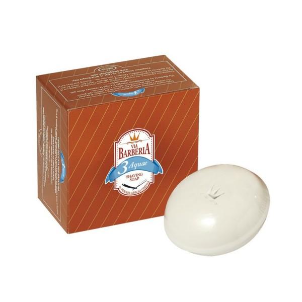 VIA BARBERIA 3 AQUAE SHAVING SOAP OMEGA 150 ML, SCHIUME BARBA / PREBARBA, S144653, 73678