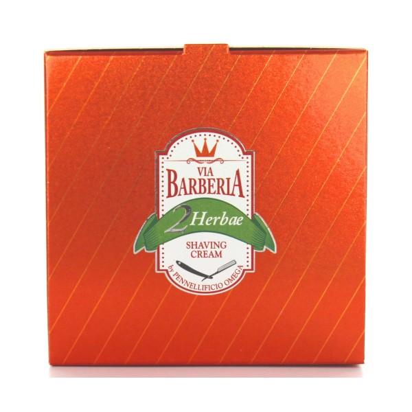 VIA BARBERIA 2 HERBAE SHAVING CREAM 150 grammi OMEGA, SCHIUME BARBA / PREBARBA, S144652, 73679