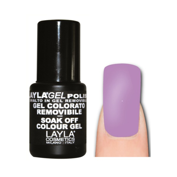 LAYLA SMALTO IN GEL COLOR REMOVIBLE LIGHT FLUO VIOLET 169, UNGHIE, S143477, 74112