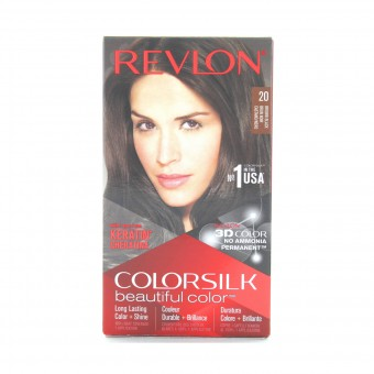 REVLON COLOR SILK PERMANENTE NO AMMIACA 20 CASTANO NERO