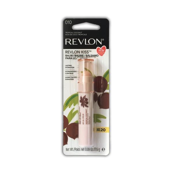 REVLON KISS BALM TROPICAL COCONUT SPF20, PROTETTIVI LABBRA, S141578, 74447