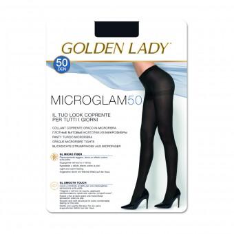 GOLDEN LADY MICROGLAM 50 DENARI COLLANT COPRENTE OPACO NERO TAGLIA 2 - SMALL