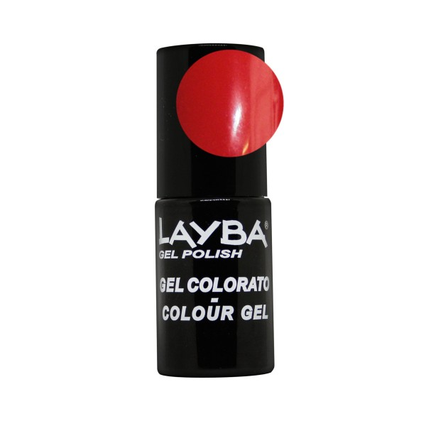 LAYBA SMALTO GEL RED PASSION N.659, UNGHIE, S141229, 74540