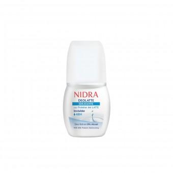 NIDRA DEOLATTE DEODORANTE ROLL ON INVISIBLE 48H IDRATANTE 50 ML