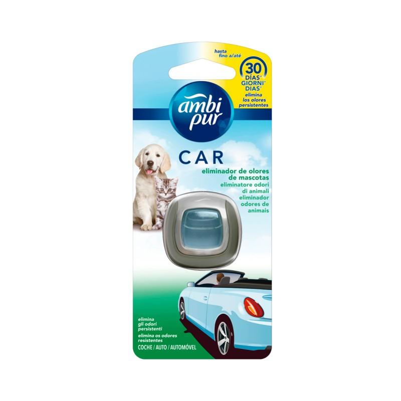 AMBIPUR CAR DEODORANTE USA & GETTA 30 GIORNI PET