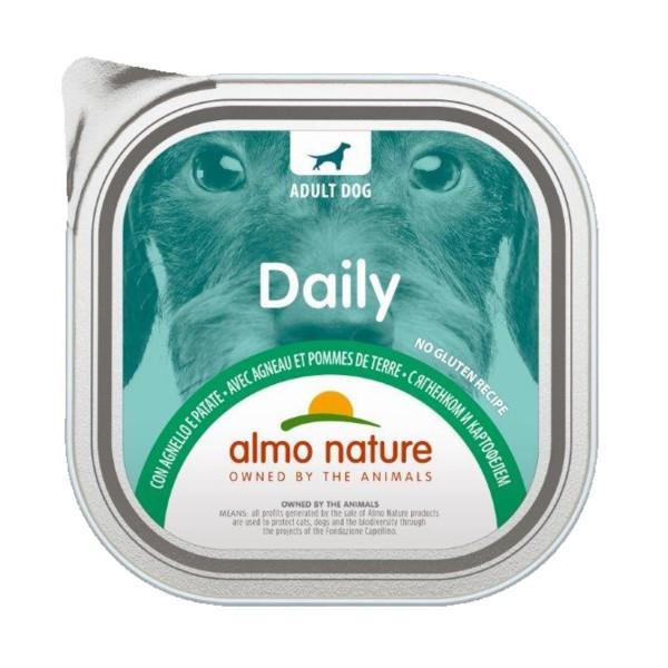 ALMO NATURE DAILY CANE AGNELLOePATATE VASCHETTA 300 Grammi, NUTRIZIONE, S139393, 74787