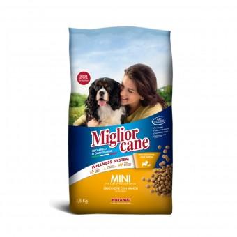 MIGLIOR CANE MINI CROCCHETTE CON MANZO SACCO 1,5 KG