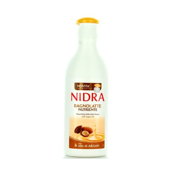 NIDRA BAGNOSCHIUMA LATTE NUTRIENTE ARGAN 750 ML, BAGNO/DOCCIA SCHIUMA, S137598, 75225