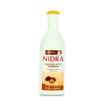 NIDRA BAGNOSCHIUMA LATTE NUTRIENTE ARGAN 750 ML