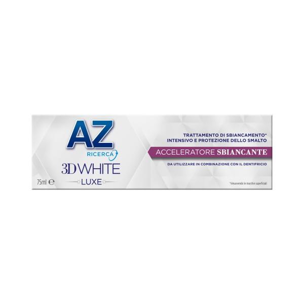 AZ 3D WHITE LUXE ACCELERATORE SBIANCANTE 75 ML, DENTIFRICI, S136396, 75347