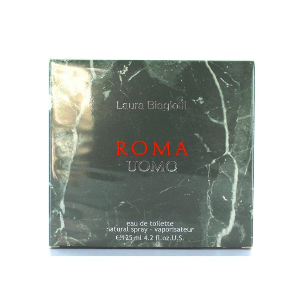 LAURA BIAGIOTTI ROMA UOMO EDT 125 ML, PROFUMI UOMO, S135419, 75517