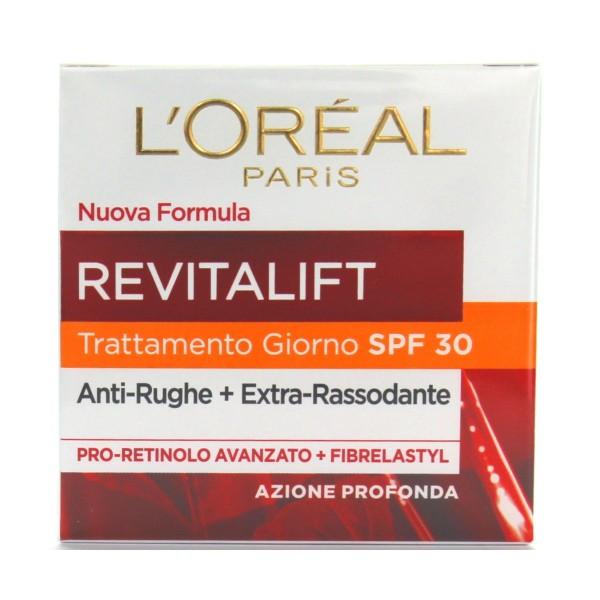 L'OREAL REVITALIFT GIORNO SPF30 50 ML, CURA VISO DONNA, S135340, 75532