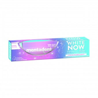 MENTADENT DENTIFRICIO WHITE NOW INFINITE SHINE 75 ML