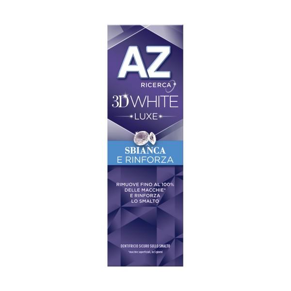 AZ 3D WHITE LUXE SBIANCA E RINFORZA 75 ML, DENTIFRICI, S133042, 75874
