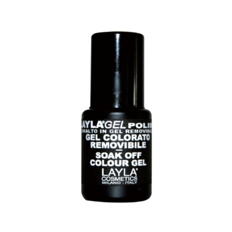 LAYLA SMALTO IN GEL COLORATO REMOVIBLE N.153 ORIENTAL ROUGE