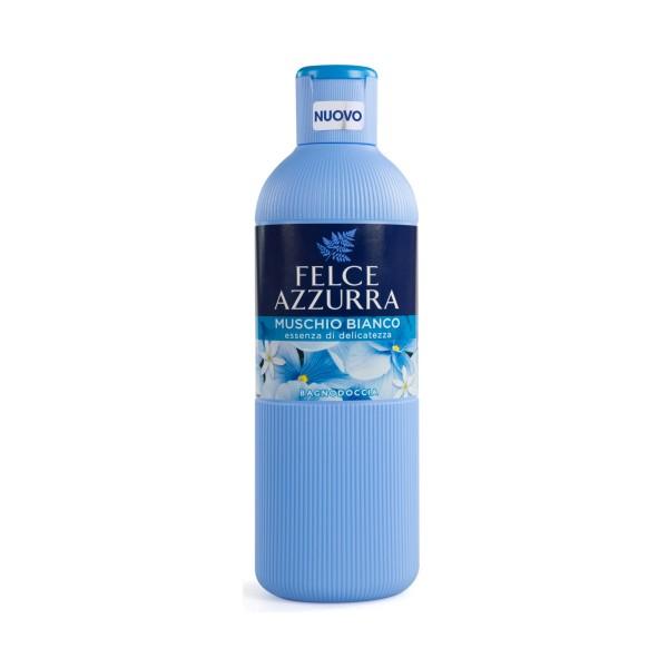 FELCE AZZURRA BAGNODOCCIA MUSCHIO BIANCO 650 ML, BAGNO/DOCCIA SCHIUMA, S128697, 76329